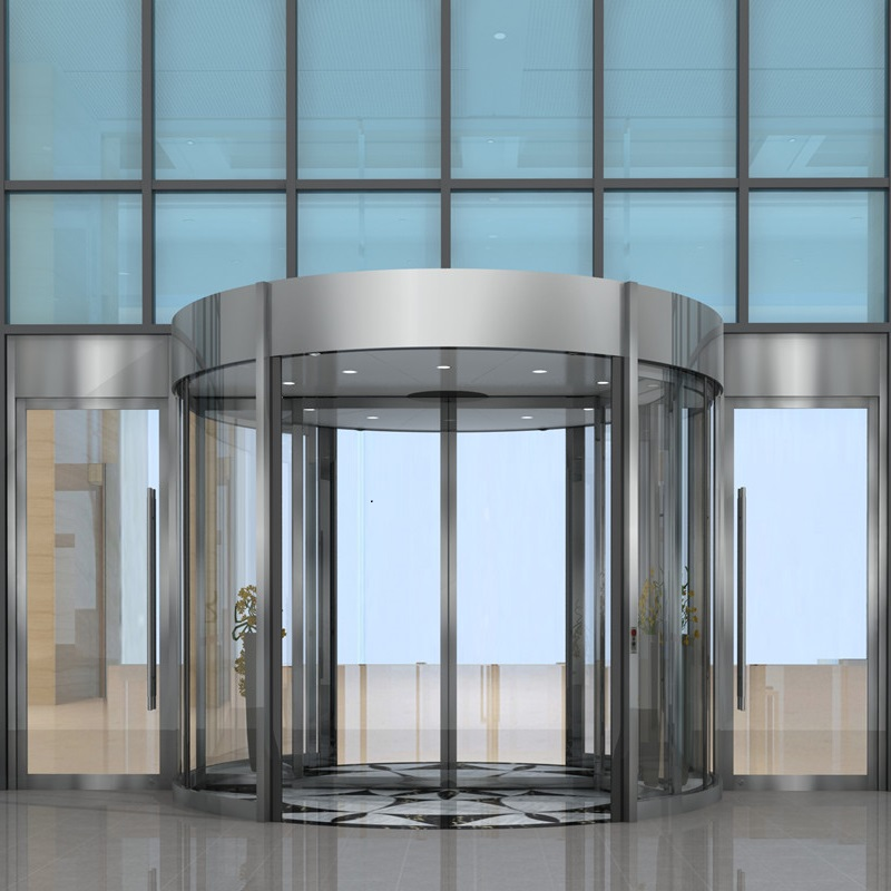 Two Wings Automatic Revolving Door