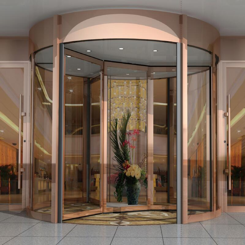 Three Wings Automatic Revolving Door