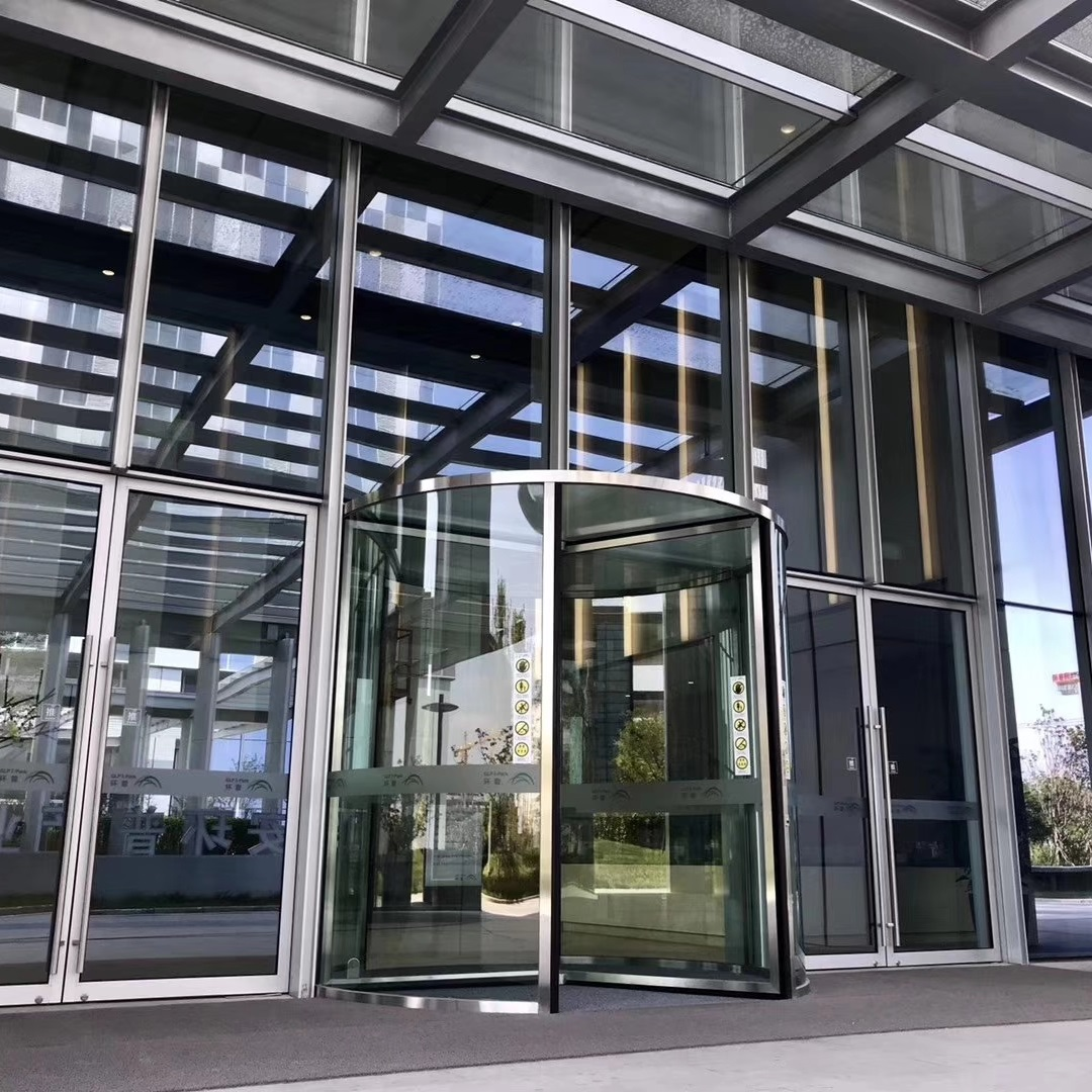 Crystal Automatic Revolving Door