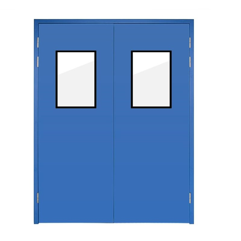 Hygienic Hospital Steel Cleanroom Door