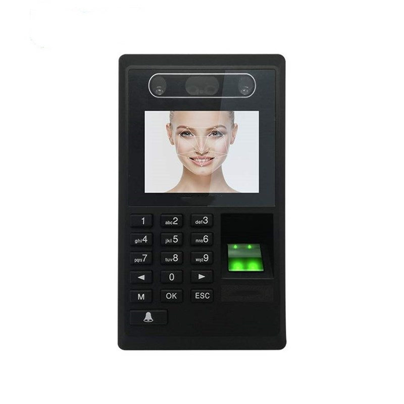 Biometric Face Recognition and Fingerprint Access Control